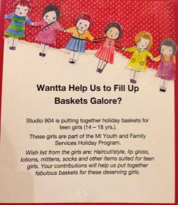 Gift Basket Poster