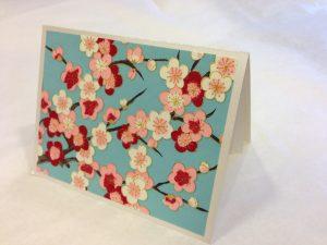 washi paper card