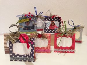 mini photo frame ornaments