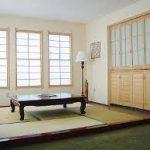 Clean Japanese room design