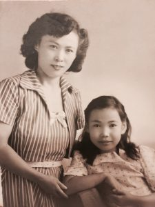 My Mother, Mary Fujie and me.