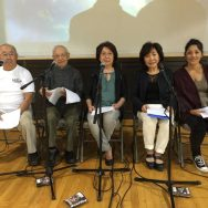 Rehearsal for Keiko's Journey book reading drama